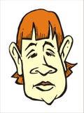 Fumetto 2 60s del fronte immagini stock libere da diritti