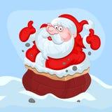 Fumetto Santa Claus - illustrazione di vettore di Natale Immagine Stock Libera da Diritti