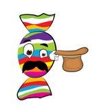 Fumetto sorpreso di Candy Immagine Stock Libera da Diritti