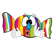 Fumetto sorpreso di Candy Immagini Stock