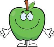 Fumetto sorridente Apple Fotografia Stock Libera da Diritti