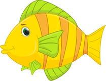 Fumetto sveglio dei pesci Fotografie Stock Libere da Diritti