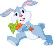 Fumetto sveglio del coniglio Fotografia Stock Libera da Diritti