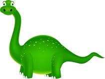 Fumetto sveglio del dinosauro Fotografia Stock