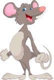 Fumetto sveglio del mouse Fotografia Stock