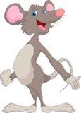 Fumetto sveglio del mouse Immagine Stock