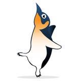 Fumetto sveglio del pinguino Fotografie Stock