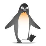 Fumetto sveglio del pinguino Immagine Stock Libera da Diritti