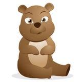 fumetto sveglio dell'orso Immagine Stock Libera da Diritti