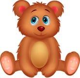 Fumetto sveglio dell'orso del bambino Fotografia Stock Libera da Diritti