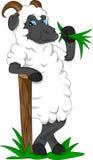 Fumetto sveglio della capra Fotografia Stock Libera da Diritti