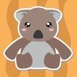 Fumetto sveglio della koala Fotografia Stock