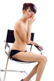 Fumeur féminin Image libre de droits