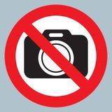 Fumez les appareils-photo d'illustrationNo de vecteur d'icône de souffle permis le signe Interdiction rouge aucun signe d'apparei illustration de vecteur