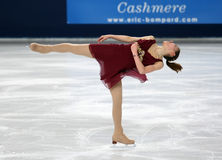 Fumie SUGURI (JPN) short program Stock Photography