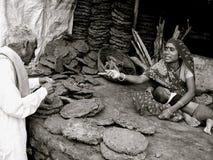 Fumier durcir-Inde Photographie stock