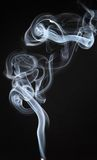 Fumo 07. Another close up of smoke coming from a stick of incense Royalty Free Stock Photos