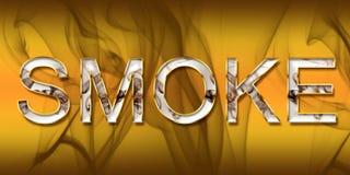Fumo Fotografia Stock
