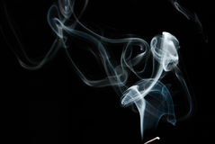 Fumo abstrato Fotografia de Stock
