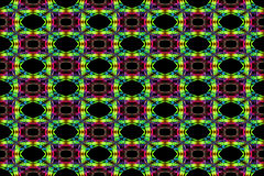 Fumo abstrato Art Pattern Fotografia de Stock