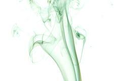 Fumo abstrato no fundo preto imagens de stock royalty free