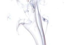Fumo abstrato no fundo preto fotos de stock
