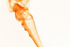 Fumo arancione Fotografie Stock Libere da Diritti