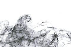 Fumo astratto fotografie stock