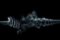 Fumo astratto Fotografie Stock Libere da Diritti
