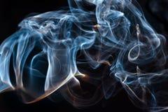 Fumo astratto della priorità bassa Fotografia Stock Libera da Diritti