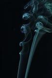 Fumo azul Fotografia de Stock Royalty Free