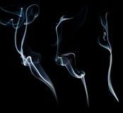 Fumo bianco Fotografie Stock Libere da Diritti
