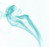 Fumo blu Immagini Stock