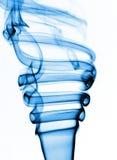 Fumo blu Fotografia Stock
