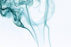 Fumo blu Fotografie Stock Libere da Diritti