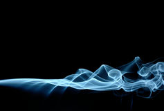 Fumo blu Immagini Stock Libere da Diritti