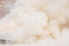 Fumo branco Imagens de Stock Royalty Free