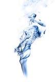 fumo Cinzento-azul foto de stock