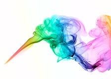 Fumo colorato fotografie stock libere da diritti