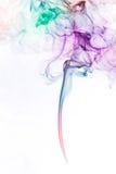 Fumo colorato Fotografia Stock Libera da Diritti