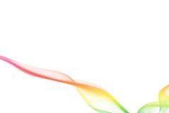 Fumo colorato pastello Fotografie Stock