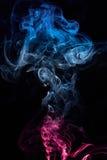 Fumo colorato riccio Immagine Stock Libera da Diritti