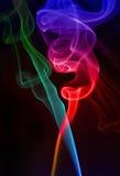 Fumo colorido imagens de stock royalty free