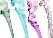 Fumo colorido Foto de Stock