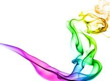 Fumo colorido Imagens de Stock
