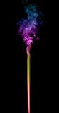 Fumo colorido abstrato Fotografia de Stock Royalty Free