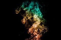 Fumo colorido abstrato Fotos de Stock Royalty Free