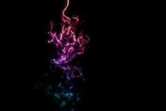 Fumo colorido abstrato Imagens de Stock Royalty Free