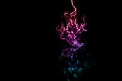 Fumo colorido abstrato Imagem de Stock Royalty Free