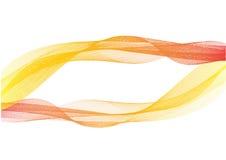 Fumo colorido abstrato no branco, para o projeto do fundo da bandeira Foto de Stock